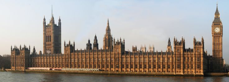 House of Parliament London - perpendicular gothic revival