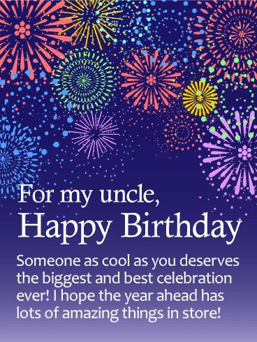 51 best I Love My Uncle images on Pinterest | Birthday greetings ...