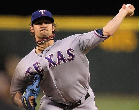 CJ Wilson and the Texas Rangers!