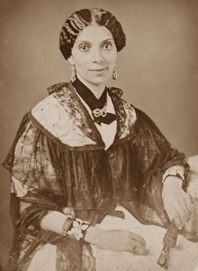 MARY SMITH PEAKE (1823 - February 22, 1862), a teacher and humanitarian, is best known for having taught children of former slaves under the Emancipation Oak tree On September 17, 1861, the first educational effort on the grounds of what is now Hampton University at Hampton Roads in Virginia. Mary Smith Peake was a free citizen of the Commonwealth of Virginia.