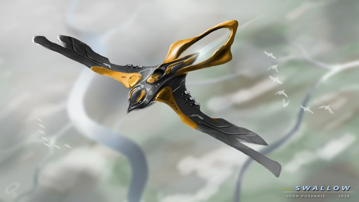 ArtStation - The Swallow Drone, Igor Puškarić