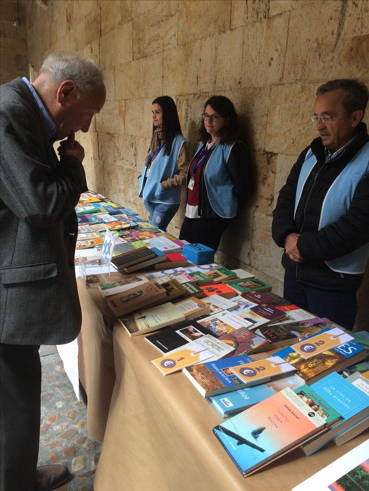 Mercadillode libros solidario con ASCOL (26,27 y 28 de abril de 2017, Patio Casa de las Conchas