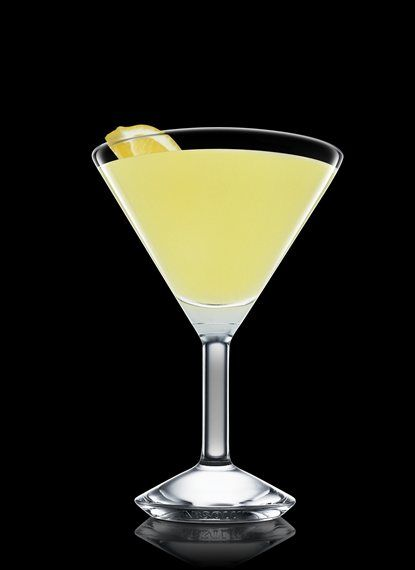 Absolut Mango Crustation - Fill a shaker with ice cubes. Add all ingredients. Shake and strain into a chilled cocktail glass. Garnish with lemon. 4 Parts Absolut Mango, 3 Parts Lemon Juice, 2 Parts Simple Syrup, 1 Wedge Lemon