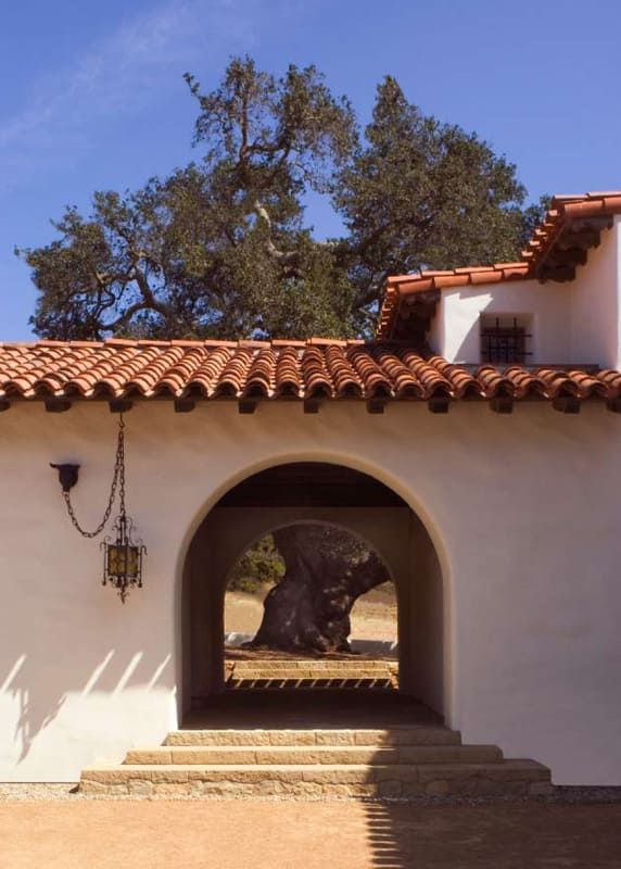 An Authentic Spanish Colonial Revival Hacienda Spanish Style Homes Mediterranean Homes Colonial Style Homes