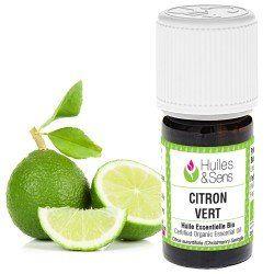 huile essentielle citron vert (bio)