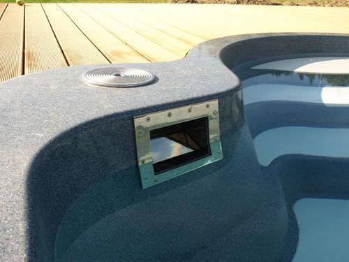 Skimmer pour piscine en inox MARINE LUXE Pools
