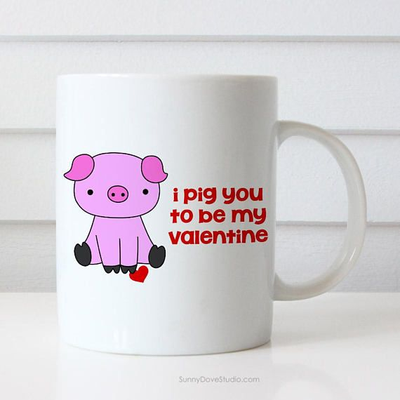 Funny Valentine Mug Gift For Girlfriend Wife Her Valentines Day
