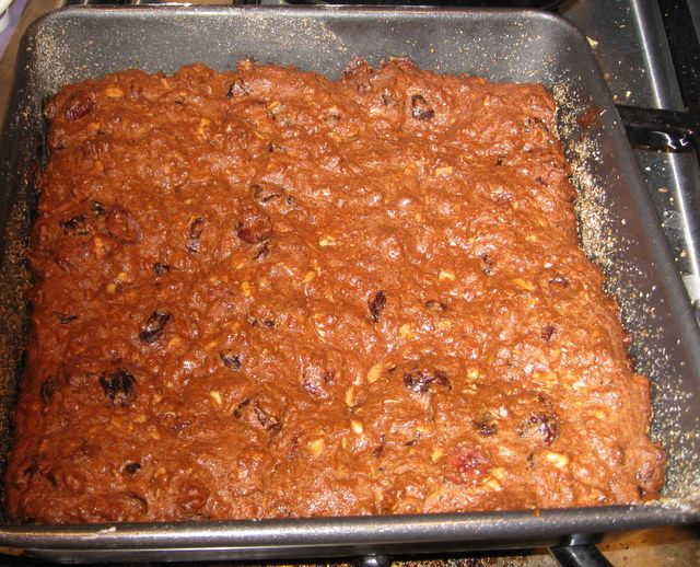 Logan Bread Recipe - Logan bread is a dense quick bread full of dried fruits and nuts. Its delicious taste, high calorie content, indestructibility, and non-perishability make it an ideal long distance backpacking food.