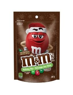 M + M's Holiday Mix Milk Chocolate Candies