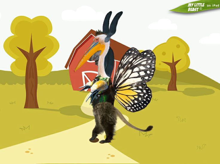 Do you think it can really fly?  Created with the awesome My Little Beast app. Download here: LITE: https://itunes.apple.com/app/id824876886 FULL: https://itunes.apple.com/app/id815685056  #games, #ipad, #kids, #animals