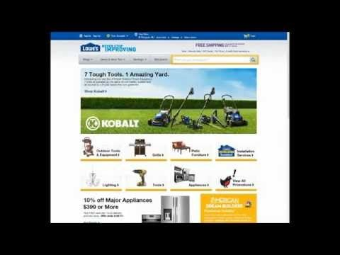 How To Apply Lowes Coupon Promo Code 10% off - (More info on: http://LIFEWAYSVILLAGE.COM/coupons/how-to-apply-lowes-coupon-promo-code-10-off/)