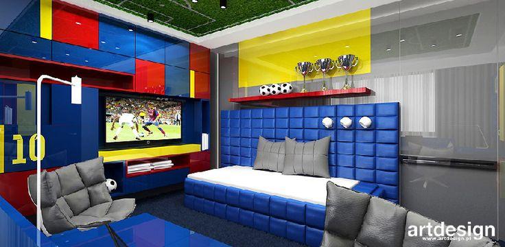 Znalezione obrazy dla zapytania pokój dla chłopca artdesign