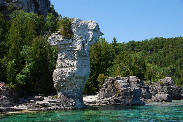 Sometimes Eventful: Not quite a deserted island: Camping on Georgian Bay's Flowerpot Island