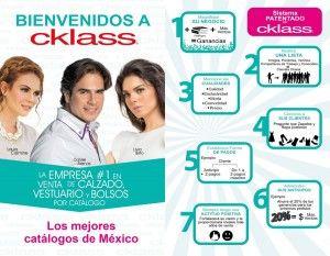 Los mejores catálogos de México. #Cklass la empresa #1 en venta de #Calzado, #Vestuario y #Bolsos por catálogo.