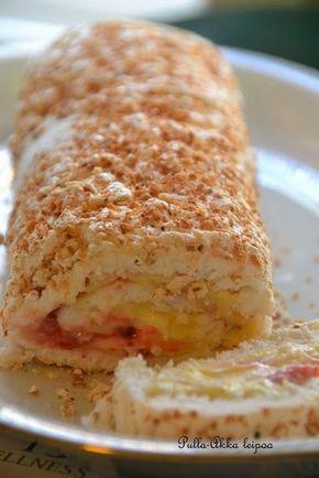 Pulla-Akka leipoo: Marenkikääretorttu