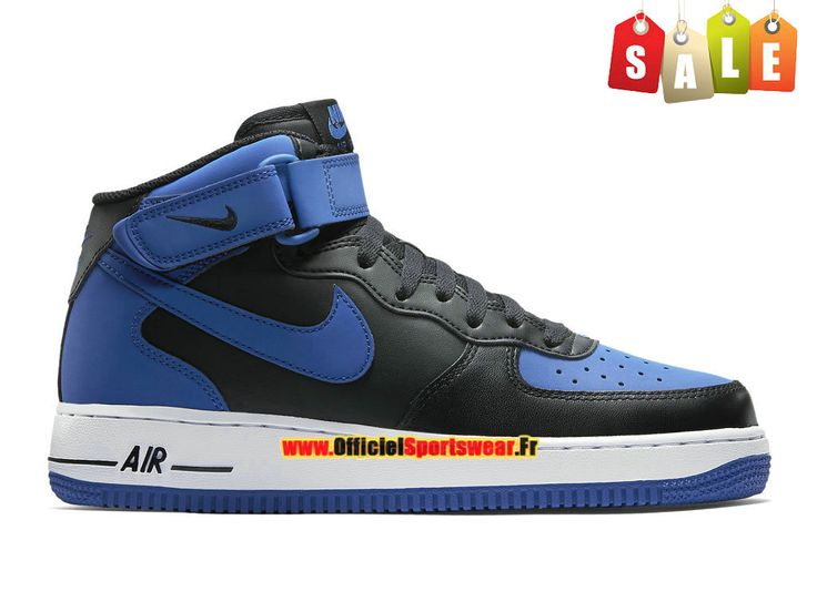 buy popular 8b101 43421 chaussures nike air force 1 mid blazer noire vue interieure
