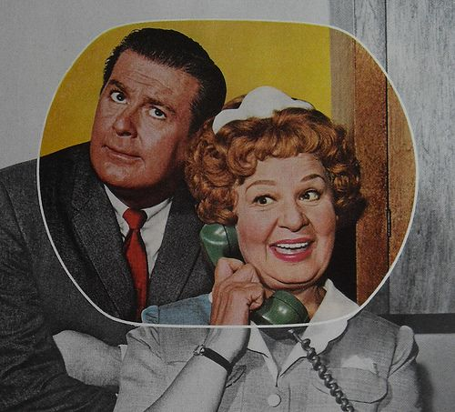 1963+HAZEL+TV+SHOW+Vintage+Television+1960s+RCA+Advertisement+Shirley+Booth+DON+DEFORE