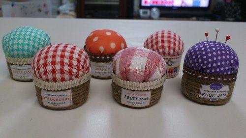 ボトルキャップで作る☆ジャム瓶型☆ピンクッションの作り方|ソーイング|編み物・手芸・ソーイング|ハンドメイド・手芸レシピならアトリエ