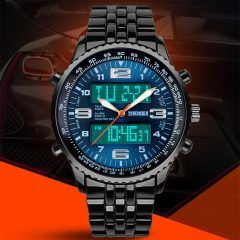 High quality premium band, quartz movement, Buy-it-now and have delivered to your door with Free Shipping.  Sale price is valid for a limited time only. From 199 USD to 39 USD !!! Only on menswatchbox.com