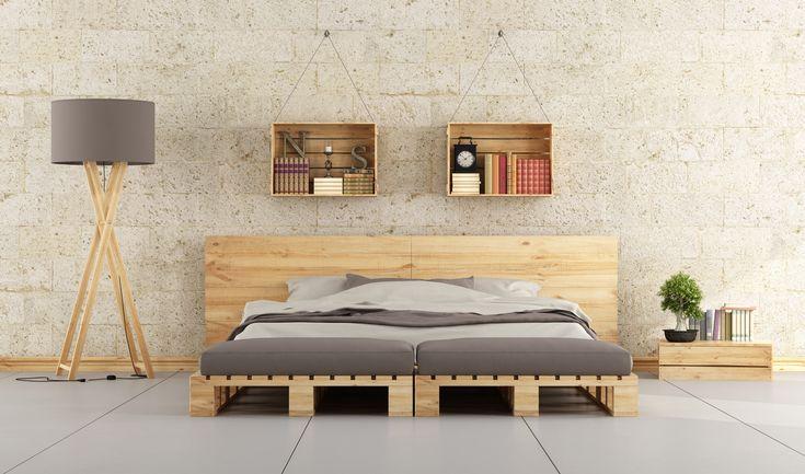 Por último, el rey de los muebles hechos con palet: una habitación completa tan bonita y funcional como esta