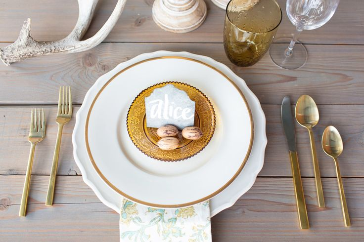17 best images about thanksgiving table decor ideas on for Place setting ideas