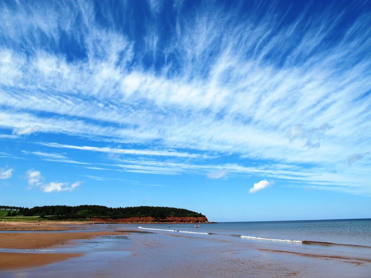 Beautiful Sky Submitted by: Pierre S.  Location: North Rustico, Prince Edward Island