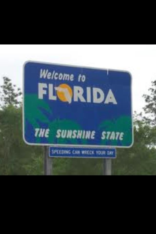 I've pretty much tackled the entire state of Florida.