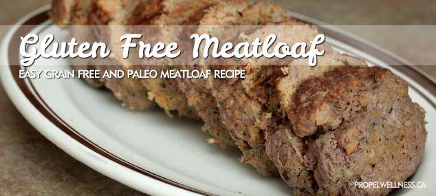 Gluten Free Meatloaf Recipe | Paleo and Autoimmune Protocol Compliant