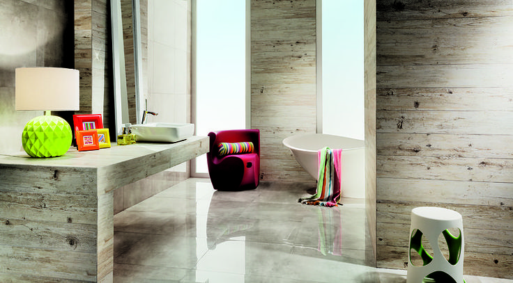 The Livingstone collection is an audacious combinationof three seemingly different worlds of stone, concreteand wood. All this is meant to break routine...