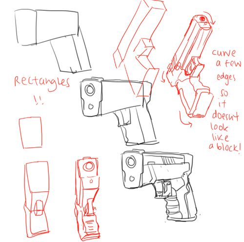 Before you draw any gun, be absolutely certain you are familiar with the parts of a gun.