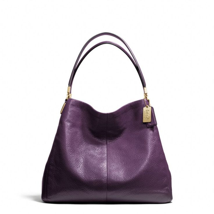 I don't normally like Coach bags, but I love this one!    The Madison Small Phoebe Shoulder Bag In Leather from Coach