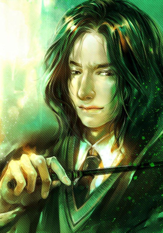 I liked young Snape even better than old Snape, but either way he's still my fav!