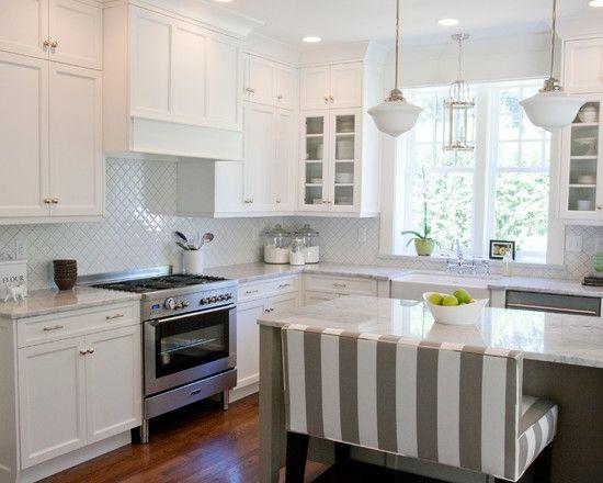 2014 Kitchen Trends (loving the breakfast bar bench)
