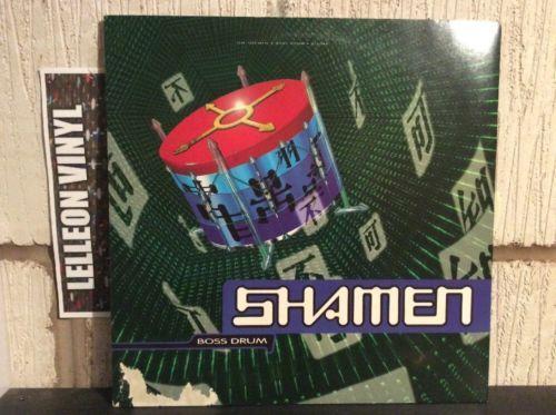 The Shamen Boss Drum LP Album Vinyl Record TPLP42 Dance Pop 90's Music:Records:Albums/ LPs:Pop:1990s