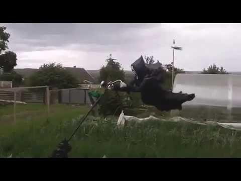 Scarecrow movie shoot