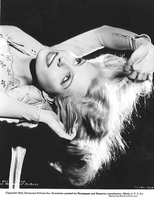 Betty Field, 1940s.