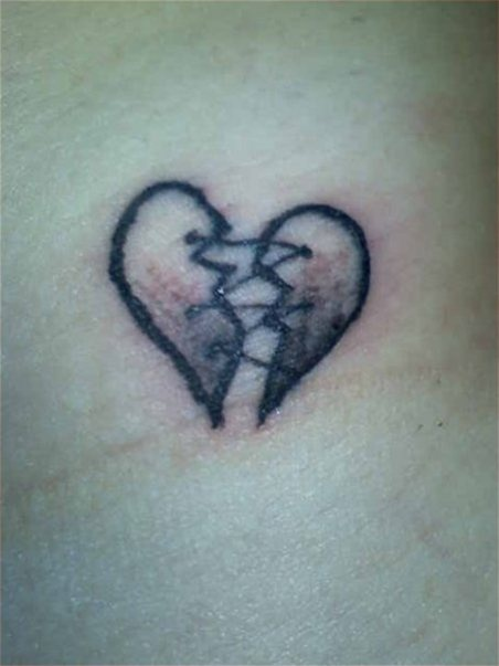 Best 25 open heart tattoo ideas on pinterest for Heart surgery tattoo
