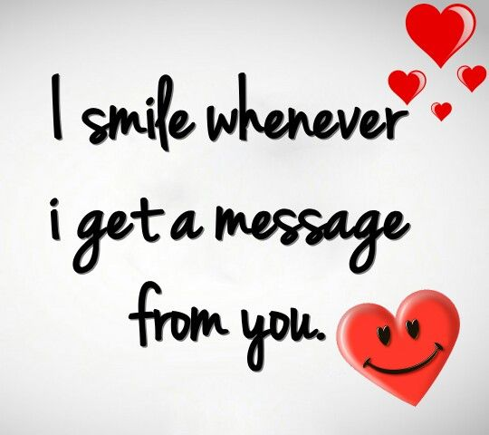I Really Do Smile Even By Just Thinking Of You It Still