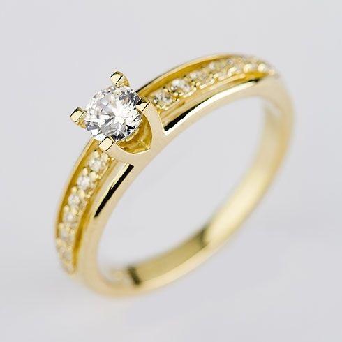 Inel de logodna cu diamant CORIOLAN DR216 C191 #bijuterii #coriolan #diamonds #ring