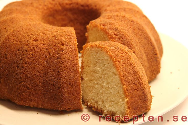 Sockerkaka - Recept på klassisk sockerkaka. Väl beprövat recept. Enkel att göra. Bilder steg för steg!