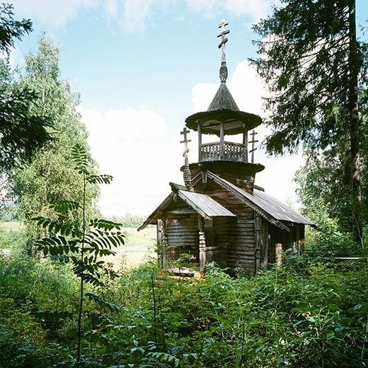 Kokkoila, Karelia region, Chapel of St Barbara (early 18th C) // Abandoned Places, AnOther Good Things