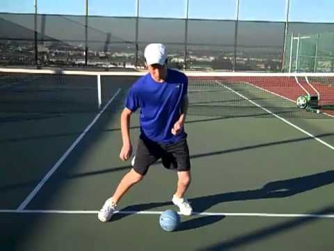 Tennis  #footwork #drills #agility and balance for juniors ( part I )