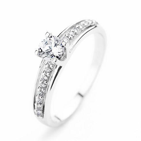 Inel de logodna cu diamant CORIOLAN DR216 C191 #bijuterii #coriolan #engagement #diamondring