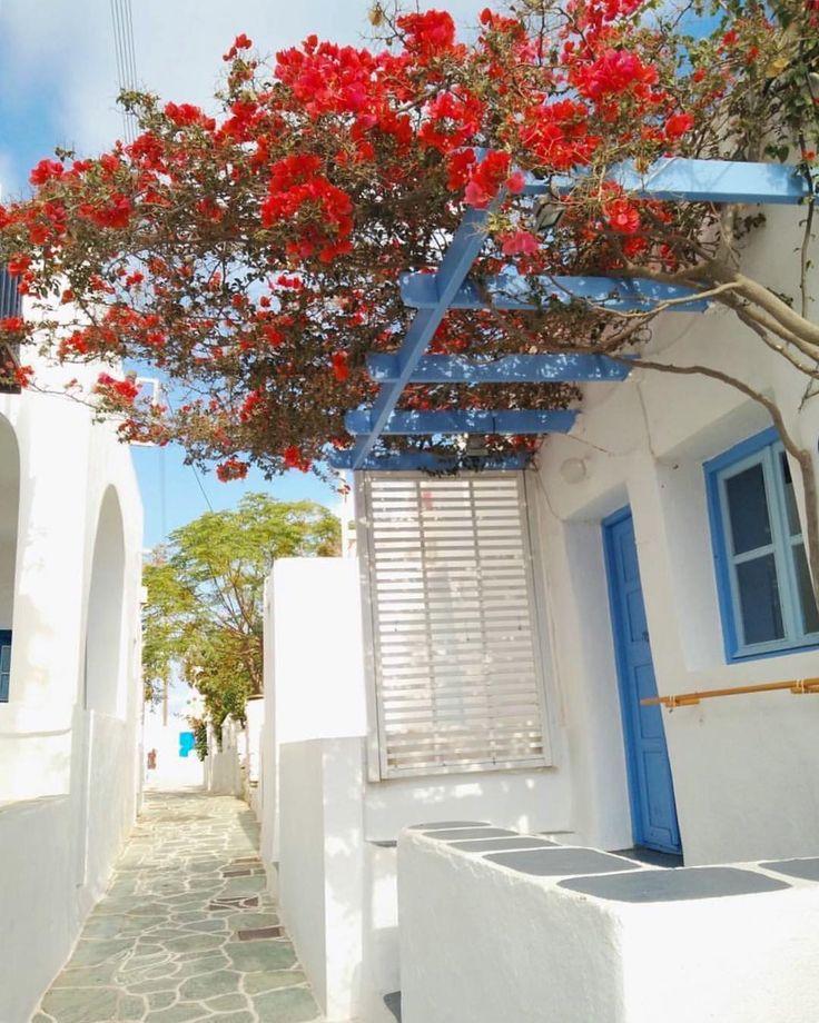 Folegandros island (Φολέγανδρος) inside the adorable alleys of Chora village !