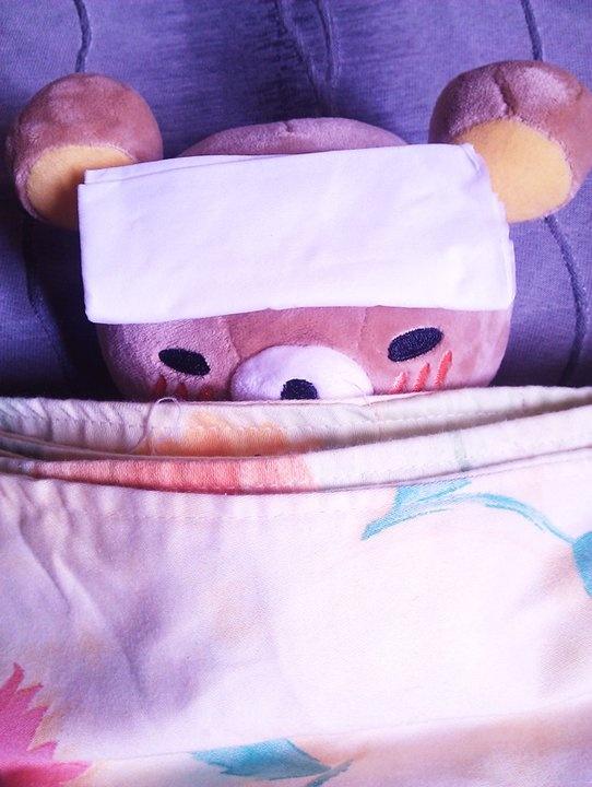 i'm sick :((