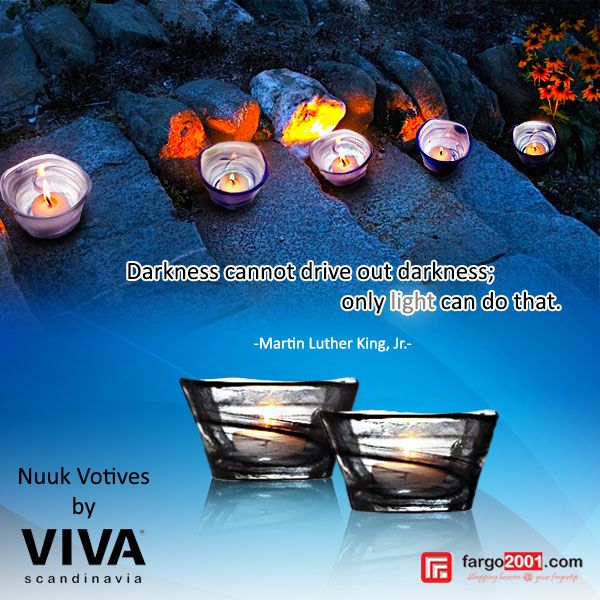 "Gelas lilin ""Nuuk Voltives"" dari Viva Scandinavia menerangi malam Anda dengan indah ! http://fargo2001.com/nuuk-votives-153.html?search=votives"