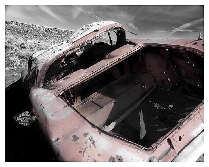 Old car in the desert - Arizona