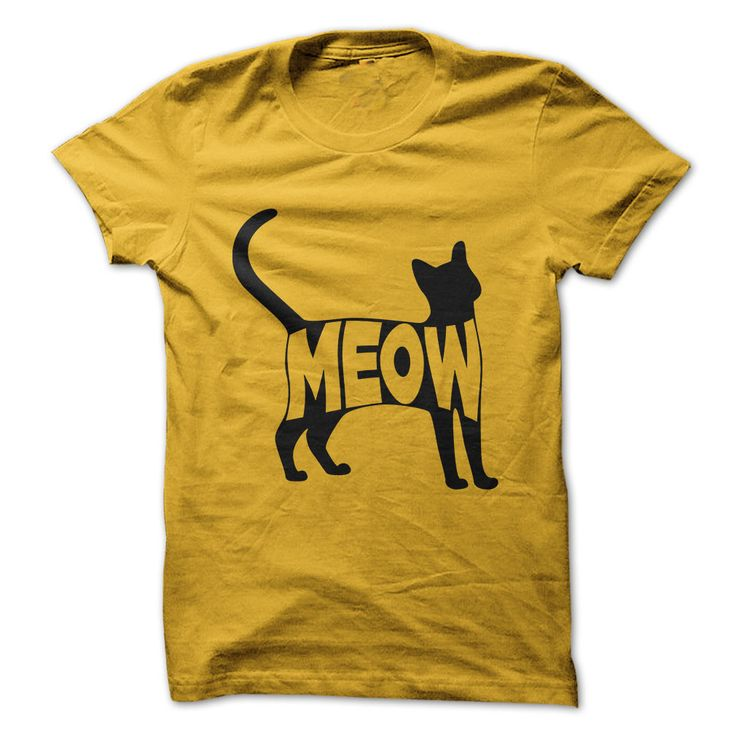 Meow Cat T-Shirts, Hoodies. VIEW DETAIL ==► https://www.sunfrog.com/Pets/Meow-Cat.html?41382