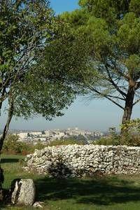 Hill view of Lauzerte