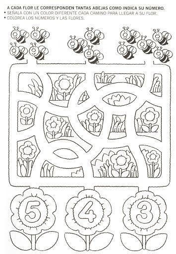 123 Manía: actividades de matemática para imprimir, resolver y colorear - Betiana 1 - Picasa Web Albümleri